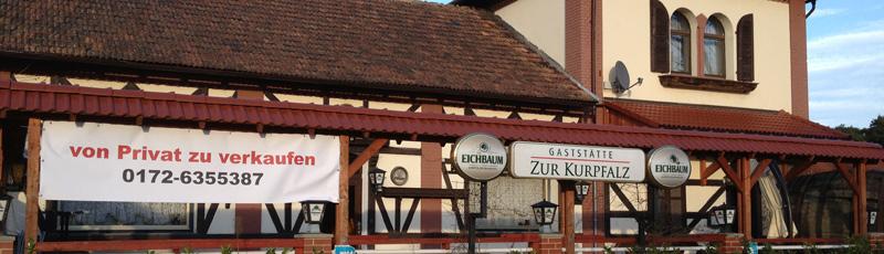 Was wird aus der Gaststätte in Neuschloß? Sie steht sie Ende 2011 leer.