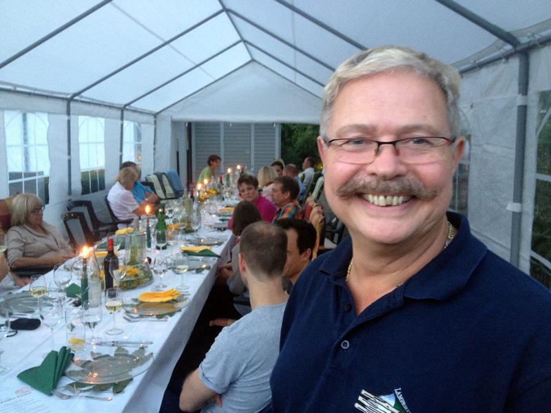 Bernd Müller hat das Menü zusammengestellt.